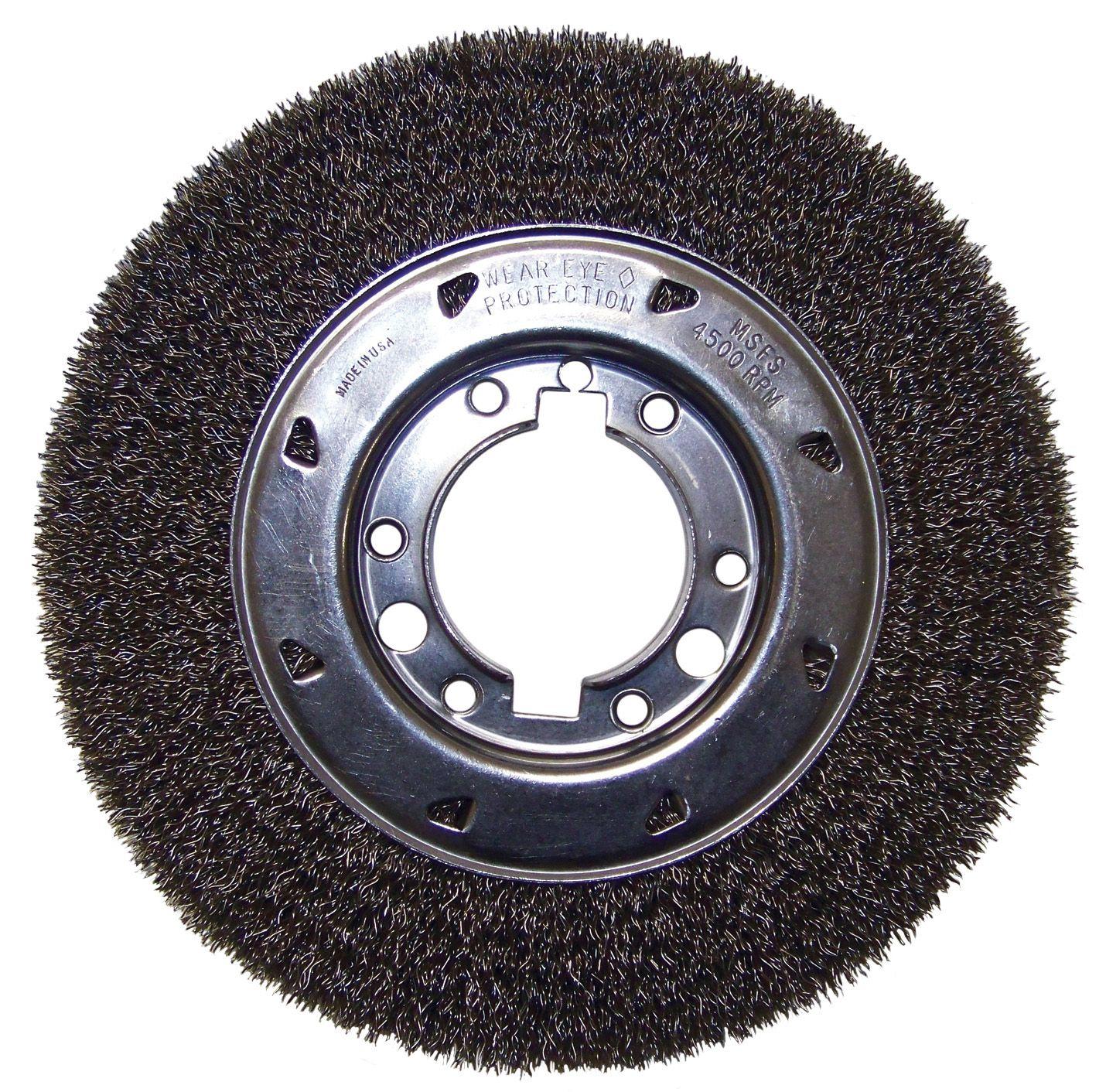 Flexovit C1040 Brosse crêpée circulaire 10