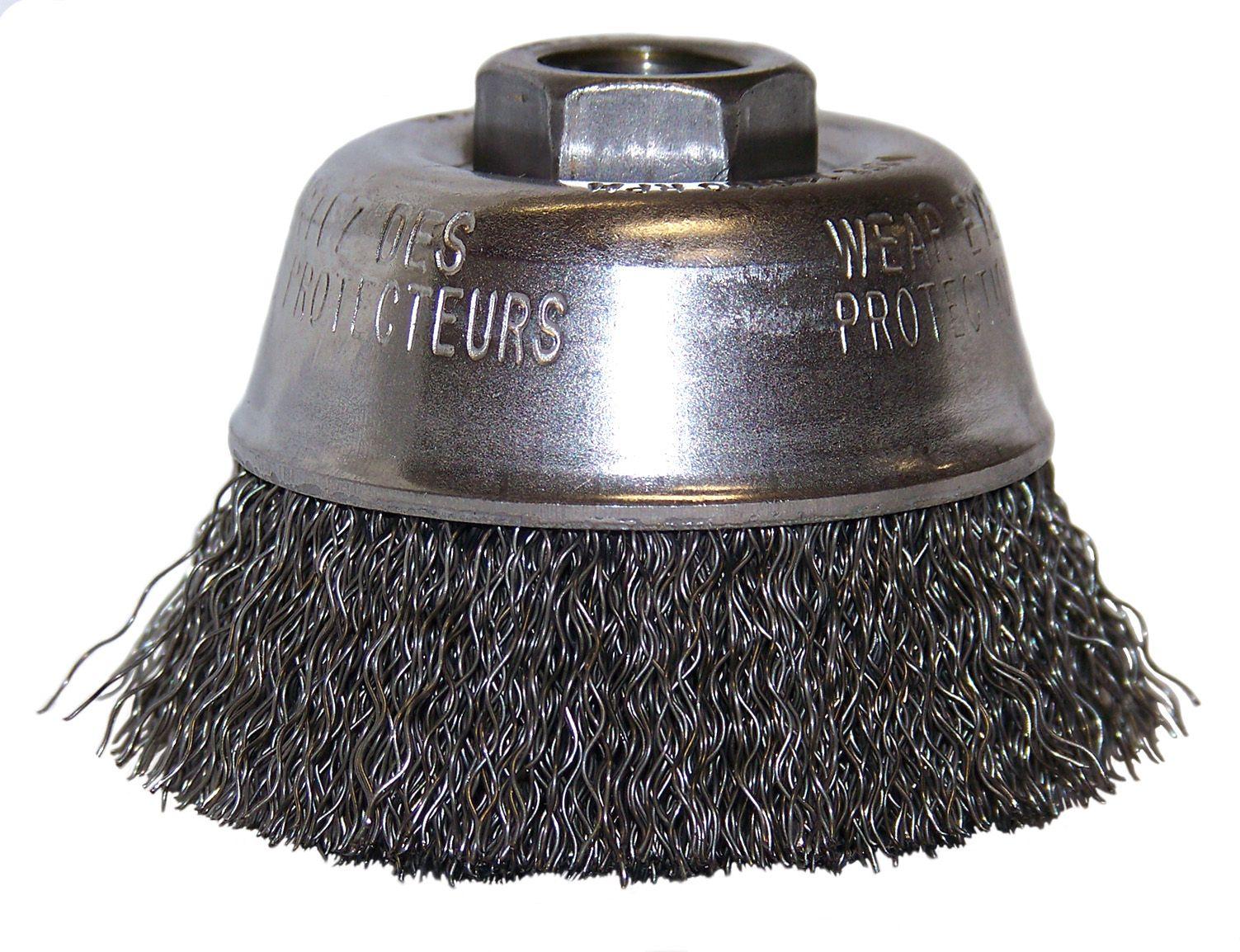 Flexovit C1755 Brosse crêpée boisseau 2-3/4