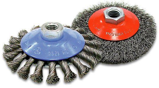 Flexovit C2350 Brosse nouée soucoupe 5