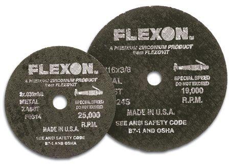 Flexovit F0314 Meule à tronçonner flexon® 3