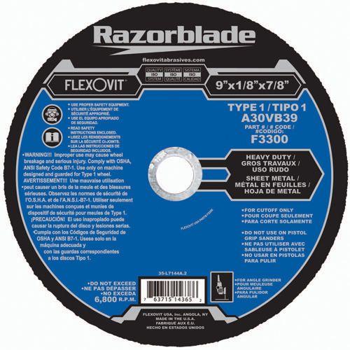 Flexovit F2311 Meule à tronçonner high performance 7
