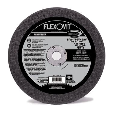 Flexovit F2510 Meule à tronçonner high performance 7