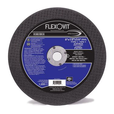 Flexovit F2790 Meule à tronçonner high performance 8