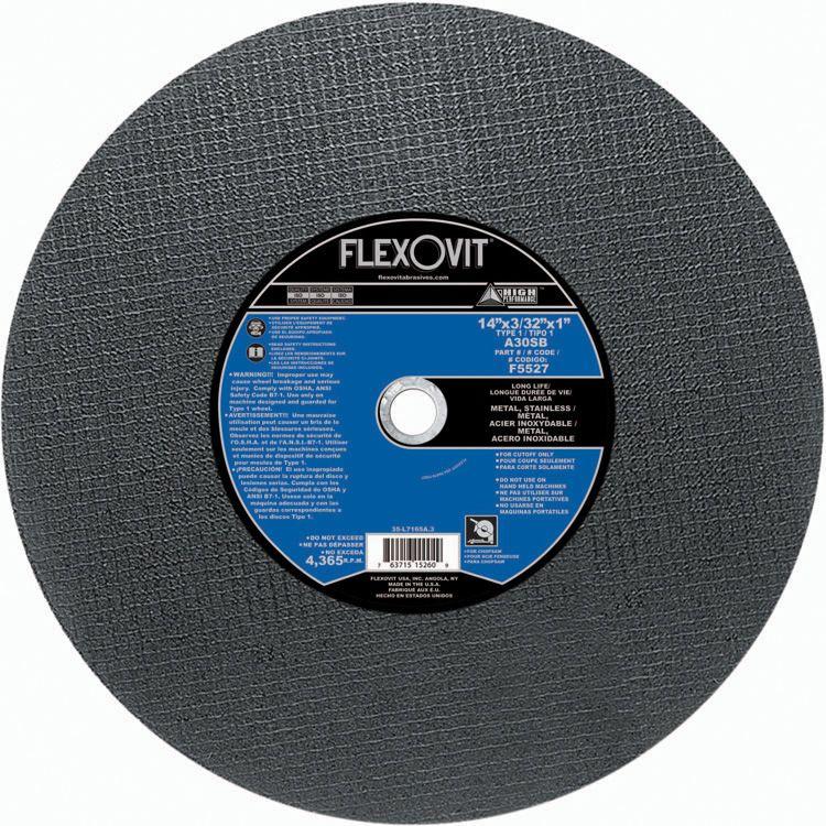 Flexovit F5527 Meule à tronçonner high performance 14