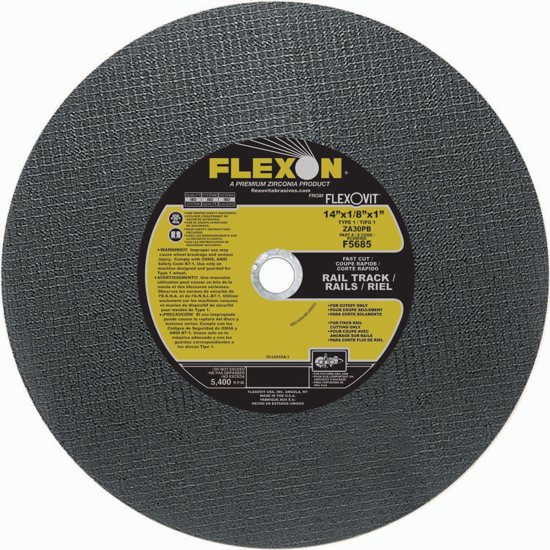 Flexovit F5685 Meule à tronçonner flexon® 14