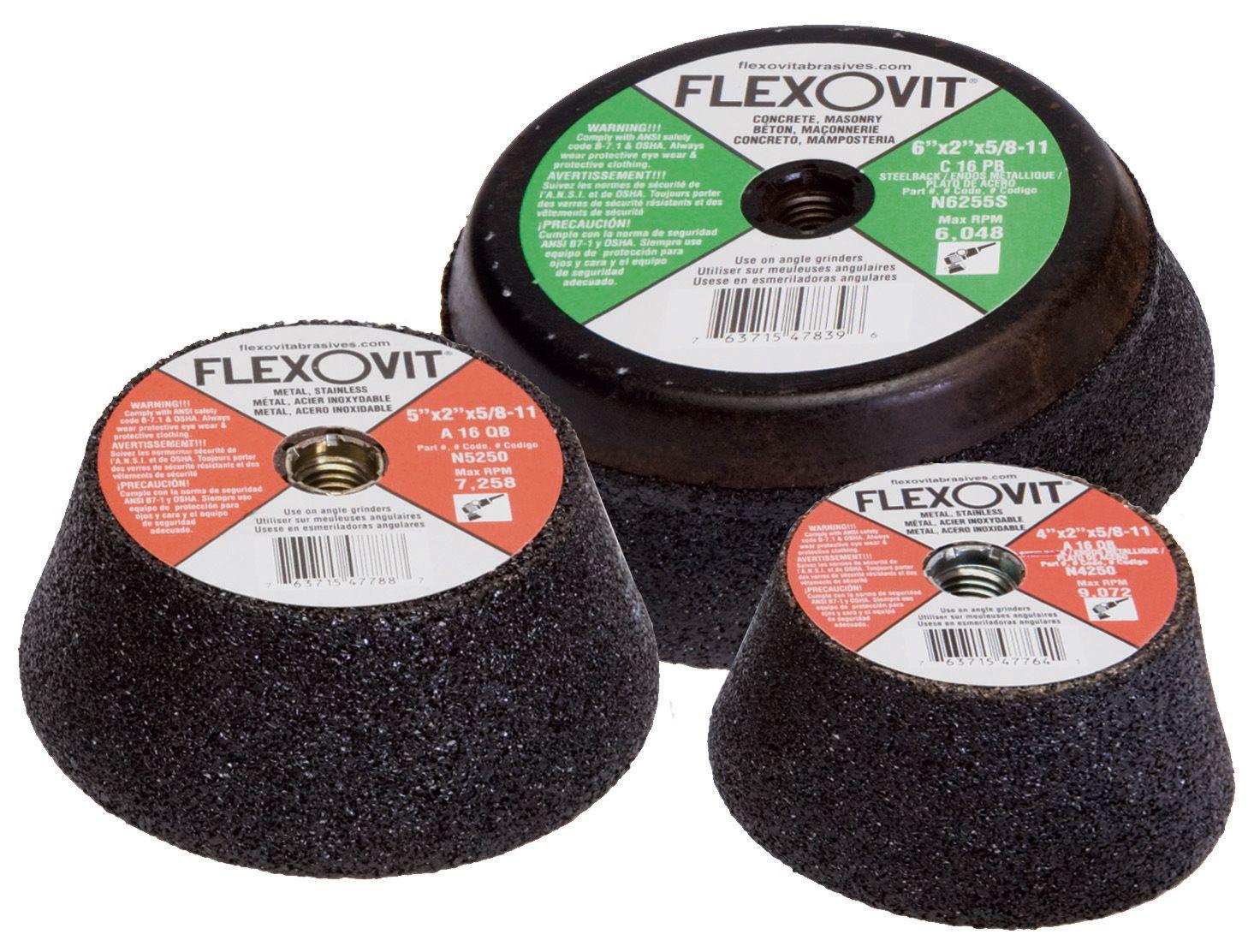 Flexovit N5250S Meule boisseau 5