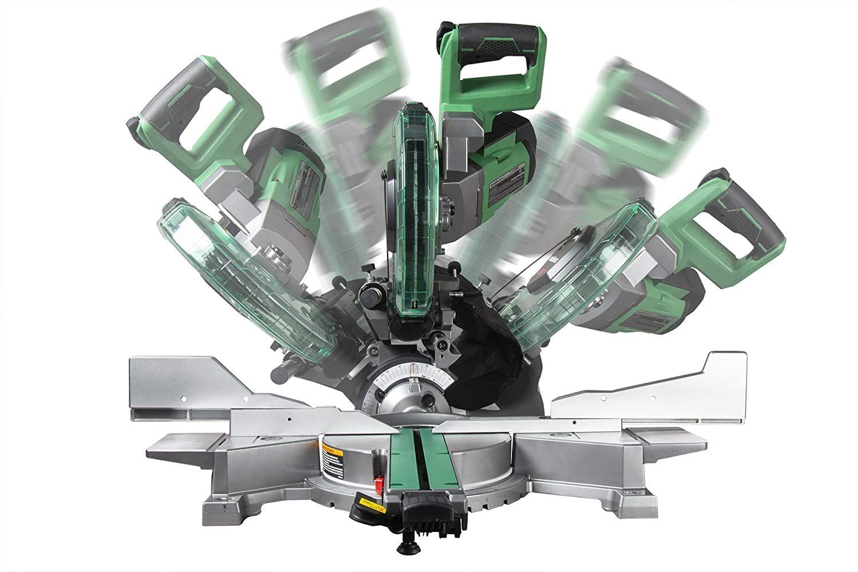 METABO HPT C10FSHCTM+SUPPORT Scie à onglets électrique 10