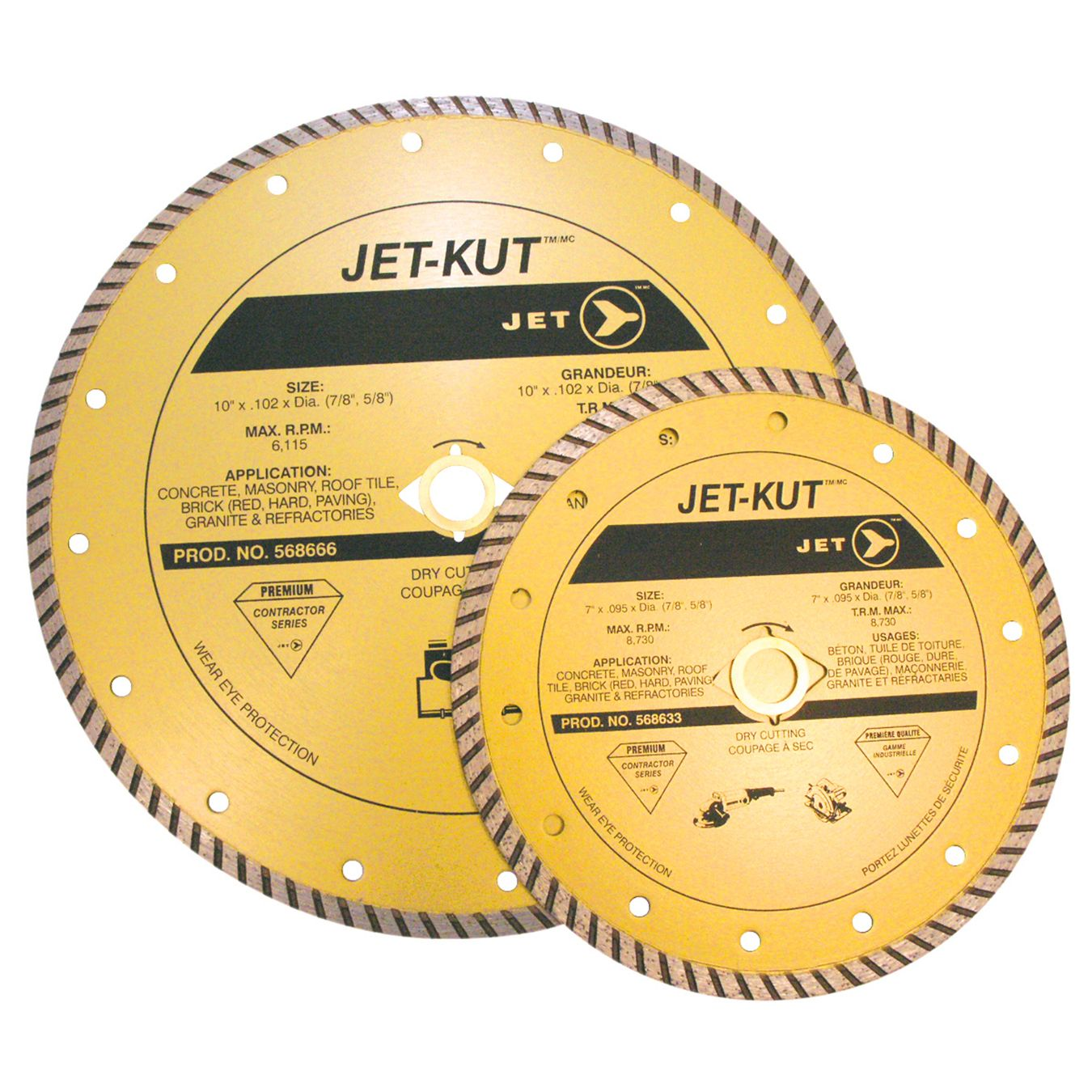 Jet 568666 Lame diamantée 10