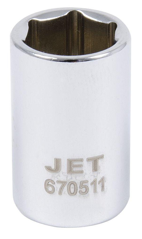Jet 670509 Douille 9mm x 6 pans courte à prise 1/4