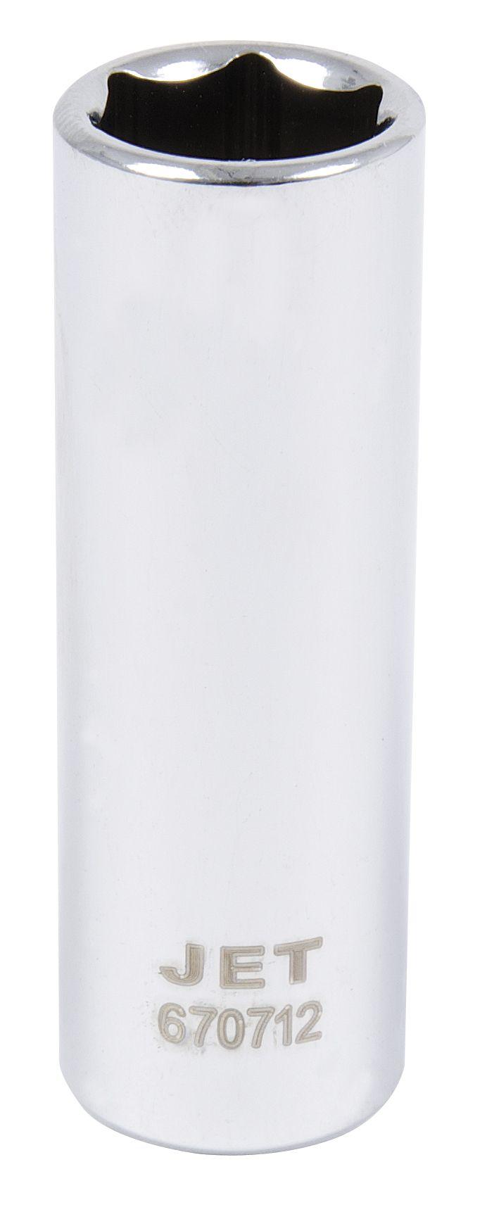 Jet 670710 Douille 10mm x 6 pans longue à prise 1/4