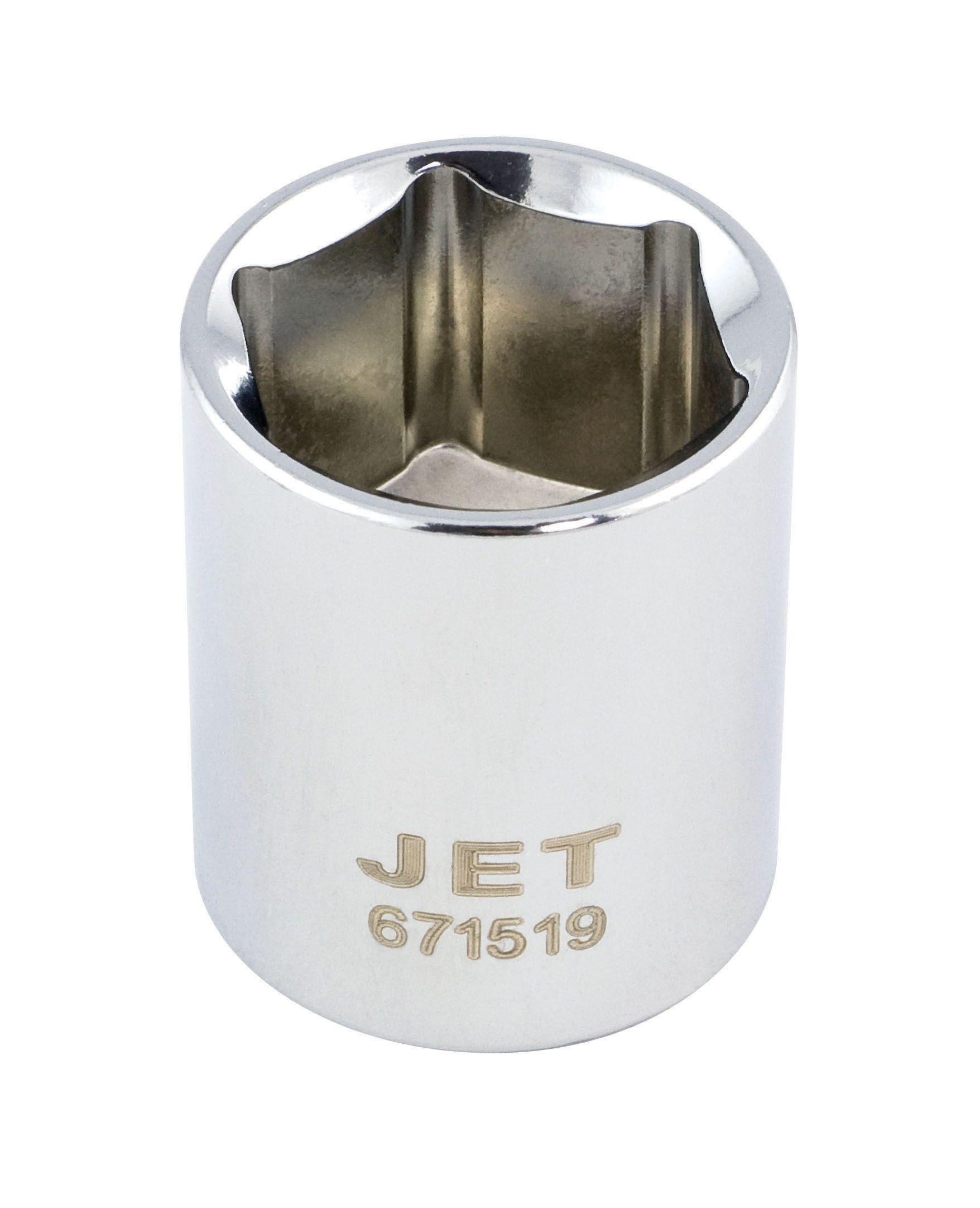 Jet 671511 Douille 11mm x 6 pans courte à prise 3/8