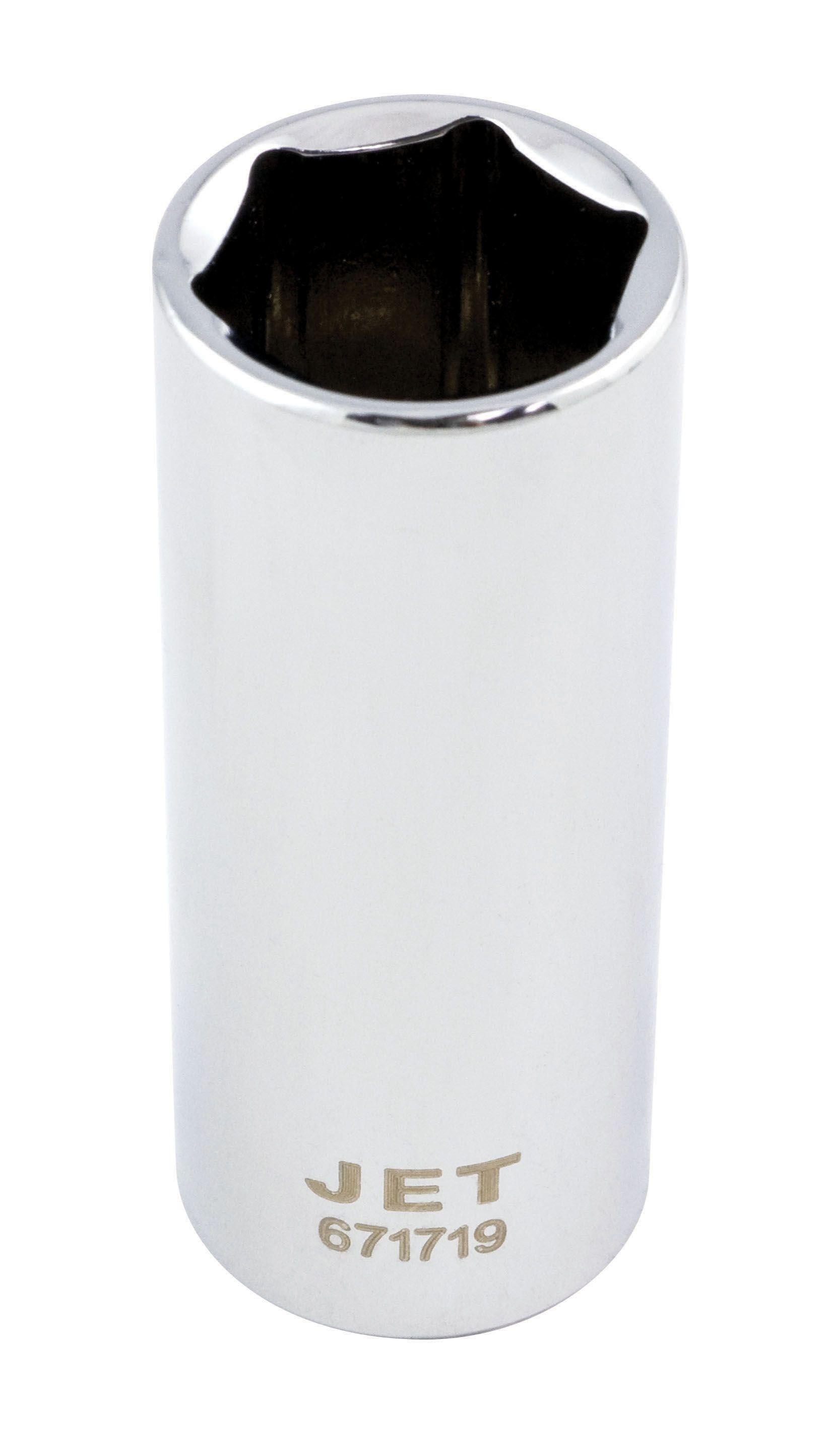 Jet 671711 Douille 11mm x 6 pans longue à prise 3/8