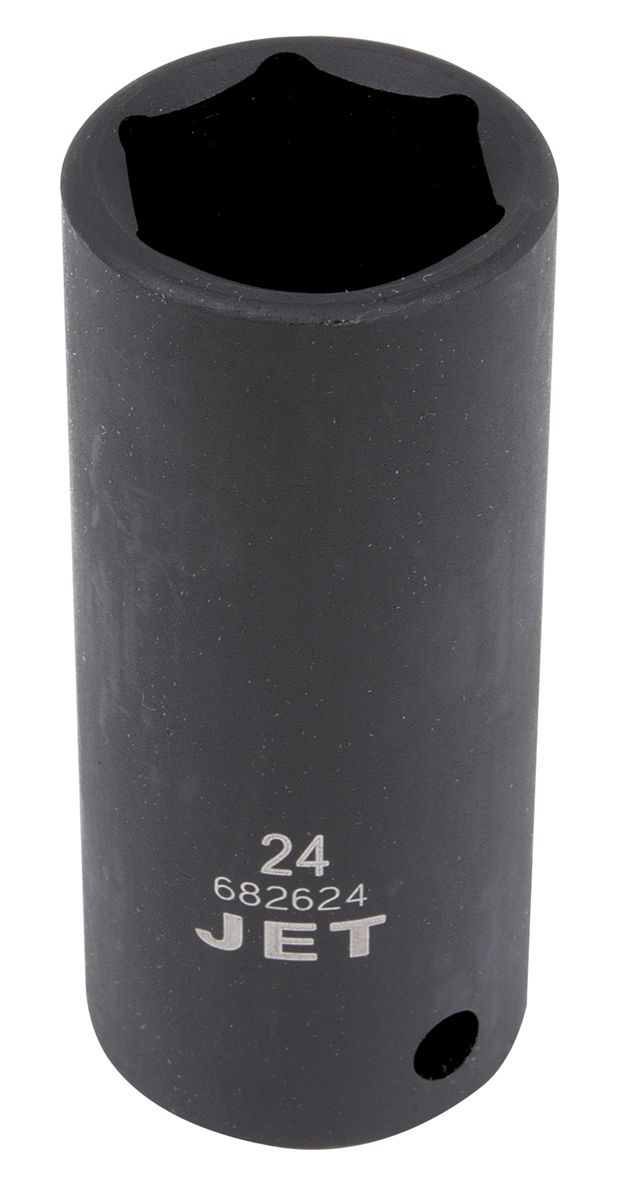 Jet 682623 Douille à chocs 23mm x 6 pans longue à prise 1/2