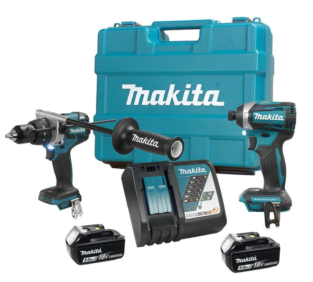 Makita DLX2176T Ensemble de 2 outils 18V li-ion