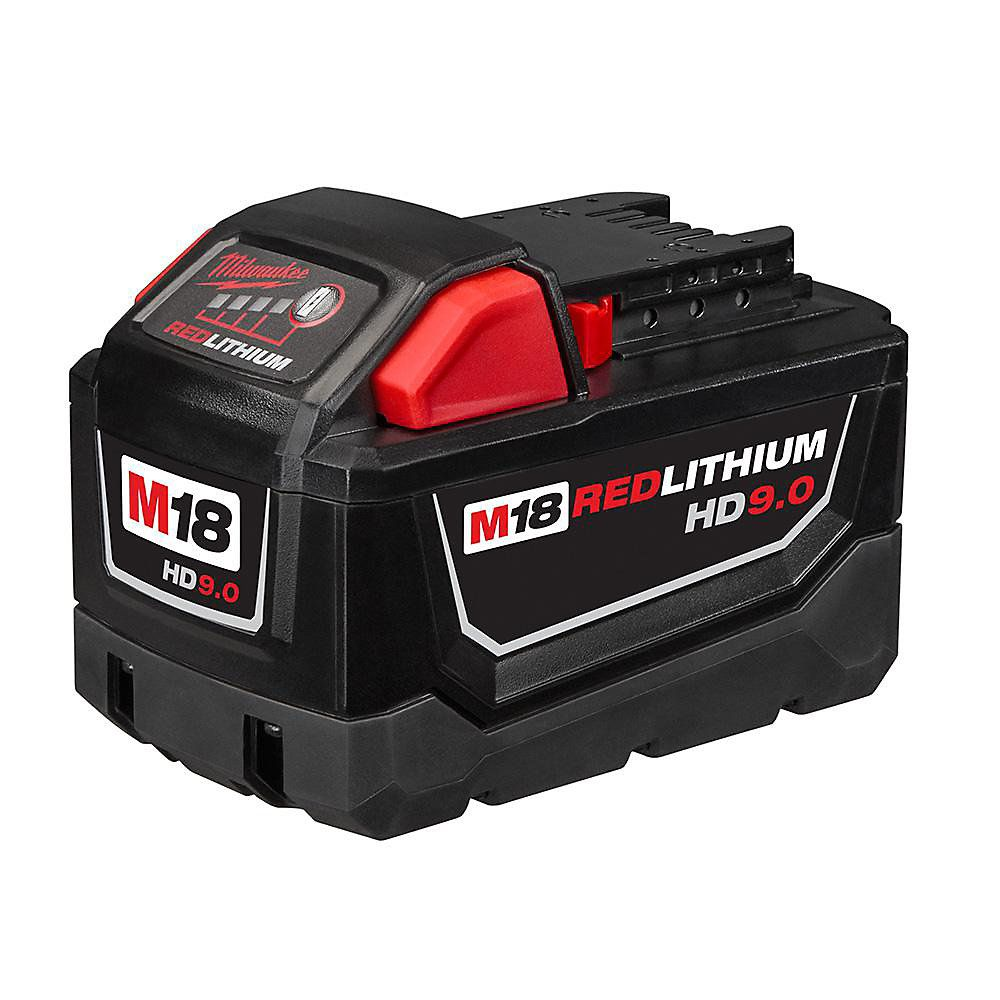 Milwaukee 48-59-1890SPC Batterie 18V 9.0 a/h - 5.0 a/h redlithium
