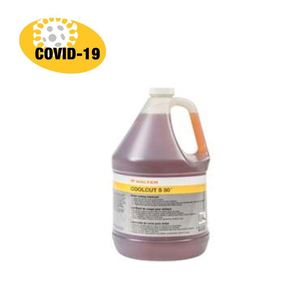Walter FLSANIS703.78L Nettoyant à surface 70% alcool 3,78 L