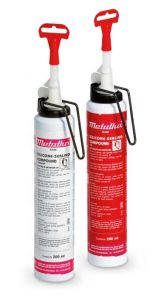 Metaflux 76-63 Joint d'étanchéité silicone 200ml - rouge
