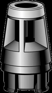 Bosch 2610906321 Embout recouvert d'acier