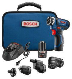 """Bosch GSR12V-140FCB22 FLEXICLICK 12V 1/4"""" drill/driver"""