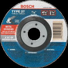 "Bosch GW27M450 4-1/2"" x 1/4"" x 7/8"" grinding wheel"