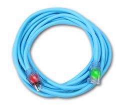 Century Wire D16821025 Rallonge électrique 25' 12/3 simple à prise simple ( bleu )