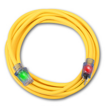 Century Wire D16824100 100' 12/3 Simple plug extension cord ( Yellow )