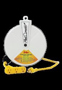 Cliplight 221308 Dévidoir électrique 30'/9.2m 16/3 Tri-Tap