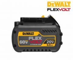 DeWALT DCB606 60V 6.0 a/h Lithium-Ion battery pack FLEXVOLT
