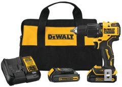 """DeWALT DCD709C2 ATOMIC 20V MAX* 1/2"""" hammer drill"""