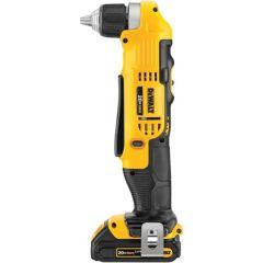 "DeWALT DCD740C1 20V Max* 3/8"" angle drill"