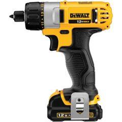"DeWALT DCF610S2 12V Max* 1/4"" screwdriver"