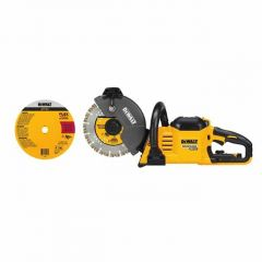 "DeWALT DCS690B Flexvolt® 60V MAX* Cordless Brushless 9"" Cut-Off Saw"