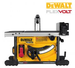 "DeWALT DCS7485T1 FLEXVOLT 8-1/4"" 60V MAX portable table saw"