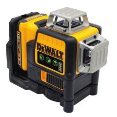 DeWALT DW089LG Niveau laser auto-nivellant 3 lignes 12V (ligne verte)