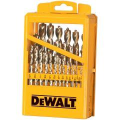 """DeWALT DW1969 29 pcs 1/16"""" to 1/2"""" metal drill bit drill set"""