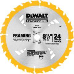 """DeWALT DW3182 8-1/4"""" x 5/8"""" 24 teeth wood saw blade"""