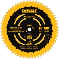 """DeWALT DW3215PT 10"""" x 5/8"""" 60 teeth wood saw blade"""