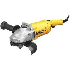 "DeWALT DWE4517W 7"" electric angle grinder"