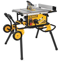 "DeWALT DWE7499GD 10"" portable table saw"