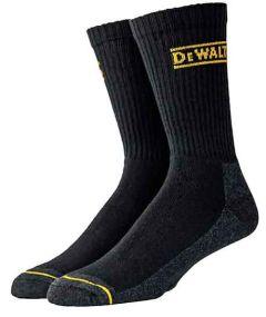 DeWALT DXSC104-BLK-BLK Cotton/poly Socks and Sockettes ( size 10-13   )