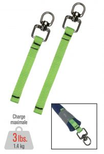 """DYNAMIC SAFETY FP533100352 4.5"""" Webbing tool connector"""