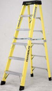 Featherlite 6404 4' fiberglass step ladder