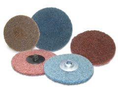 "Flexovit H0412A 3"" x Hook & Loop High Performance surface conditioning disc ( Coarse )"