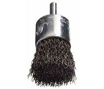 "Felton Brushes E203 1/2"" x mounted crimped brush"
