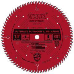 """Freud LU80R010 10"""" x 5/8"""" 80 teeth wood saw blade"""