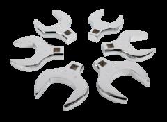 """Sunex SUN-9722 Ensemble de 6 clés pied de biche à prise 1/2"""""""