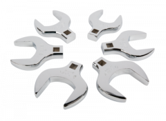 "Sunex SUN-9722 1/2"" drive 6 crowfoot wrenches set 1-5/8"" - 2-1/4"""