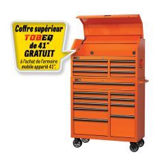 G2S Tobeq TBQ-RC411018OR 10 drawers roller cabinet