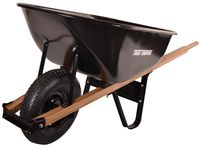 Garant C6 6ft³ Steel wheelbarrow