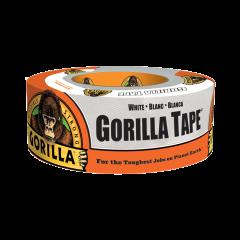 Gorilla Glue 6010002 Ruban adhésif blanc à conduits 48mm x 9m